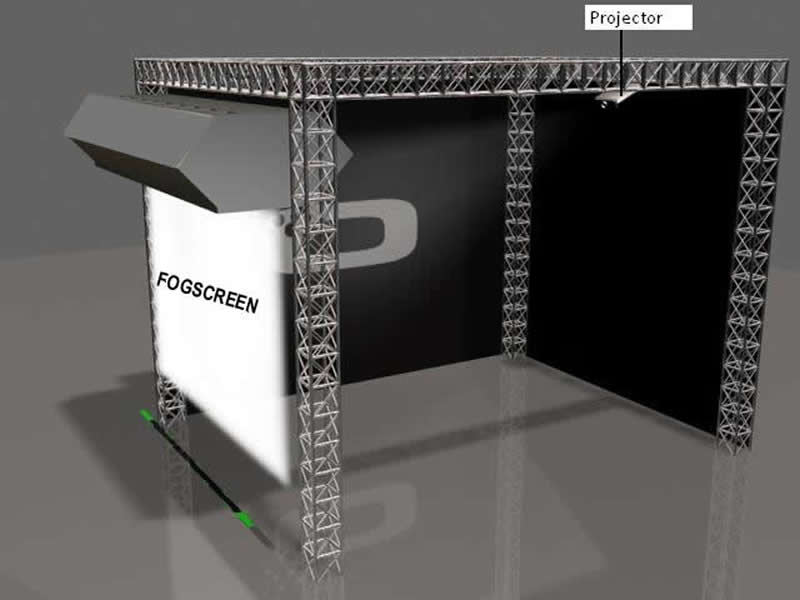 Fog Screen Display, Interactive Display Solutions - Bangalore, India